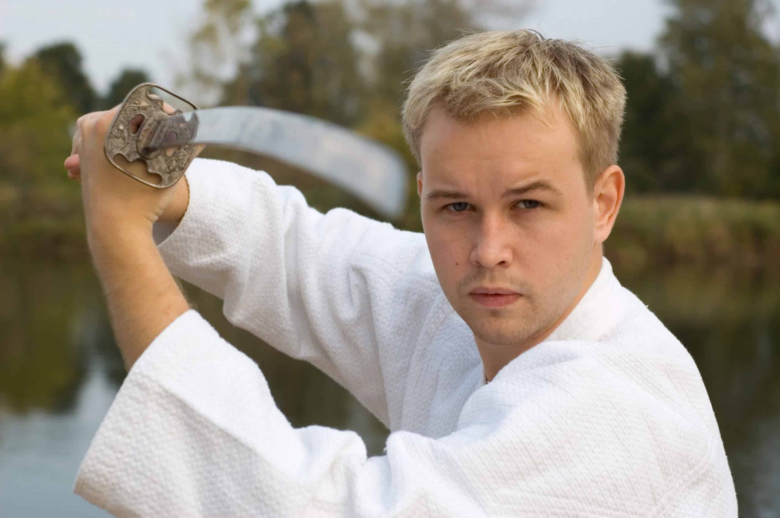 Martial Arts Lessons for Adults in Campbell CA - Samurai Sword Posing Blog