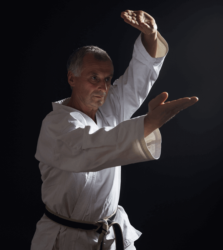Martial Arts Lessons for Adults in Campbell CA - Older Man