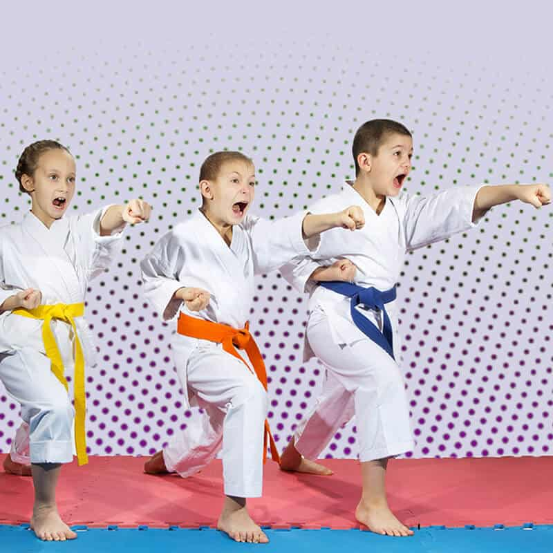 Martial Arts Lessons for Kids in Campbell CA - Punching Focus Kids Sync