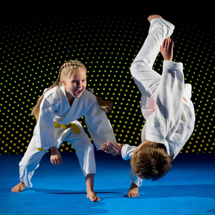 Martial Arts Lessons for Kids in Campbell CA - Judo Toss Kids Girl